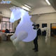 Hot Sale Lighted Inflatable Riding Horse Costume for Spain Parade Decoration