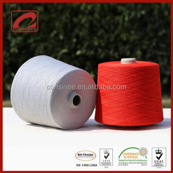 Consinee cashmere wool silk mohair industrial cone yarn for knitting machine