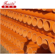 Sn4 /Sn8 PVC or UPVC Sewer or Water Plastic Pipe