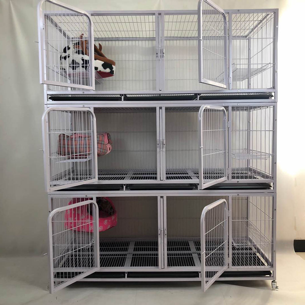 The most popular three-storey large breeding dog cage