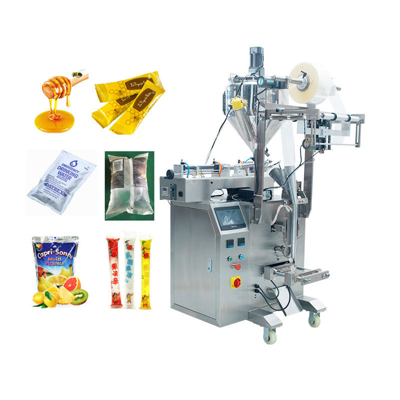 CE Certification Automatic Filling Liquid Sachet Honey Stick Packing Machine