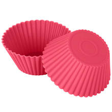 Food grade muffin chocolate bakeware soft silicone baking cupcake