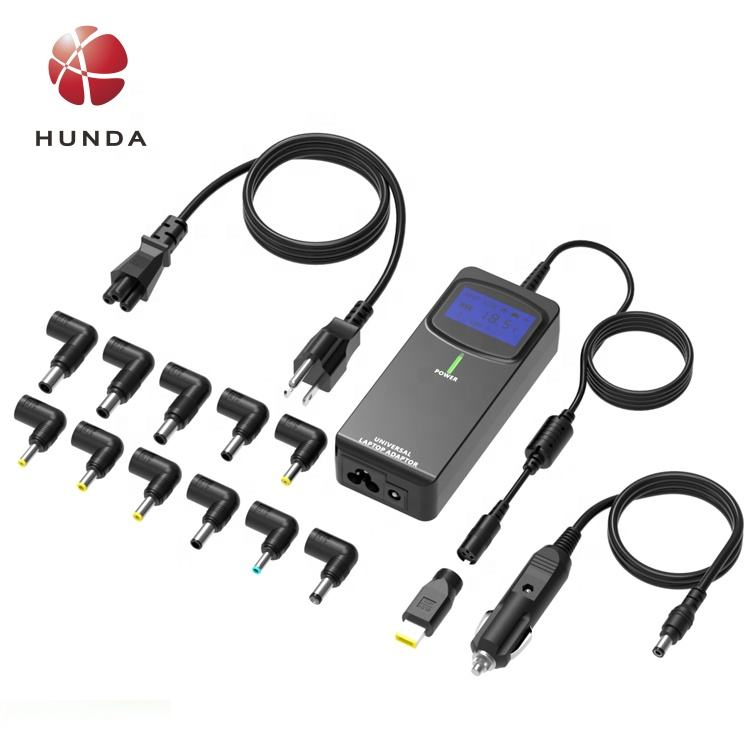 HUNDA 90 W Universal AC Charger Laptop Otomatis Tegangan power supply 15-20 V Power Adapter untuk Laptop Asli Charger