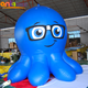 Outdoor promotional mobile inflatable octopus cartoon characters/ animal shape model for event stage decoration