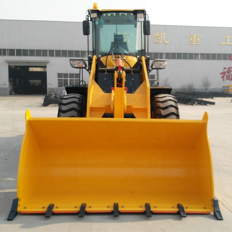 Germany Bauma new style skip loader quicke weel loader