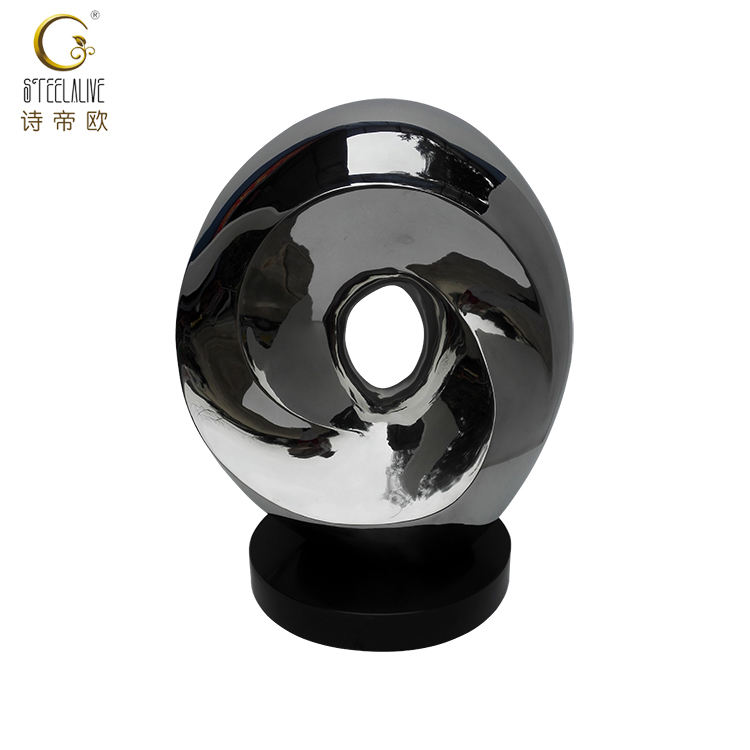 Wholesale China Made Unique Stainless Steel Metal Sculpture Crafts