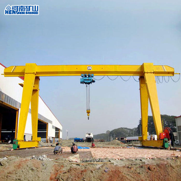 Factory 10T A-Frame Lifting Equipment Mobile Gantry Crane India Price