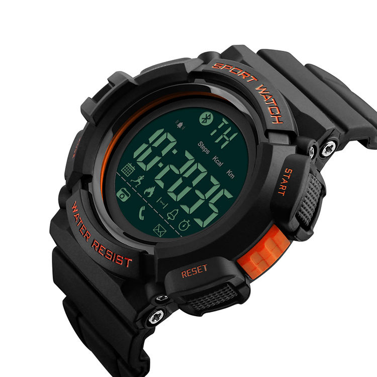 SKMEI SMS & APP Reminder Mens Sport Digital Waterproof Wrist china Smart Watch