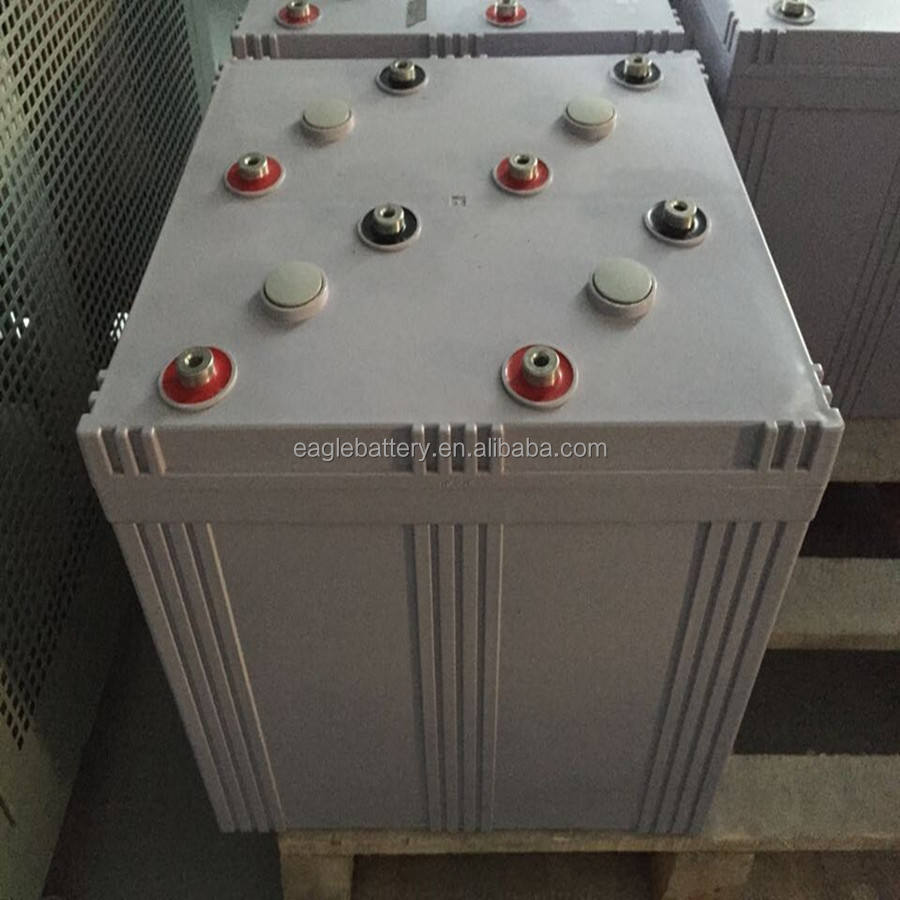 긴 삶 2v1500ah deep cycle Solar battery 대 한 telecom/UPS/inverter