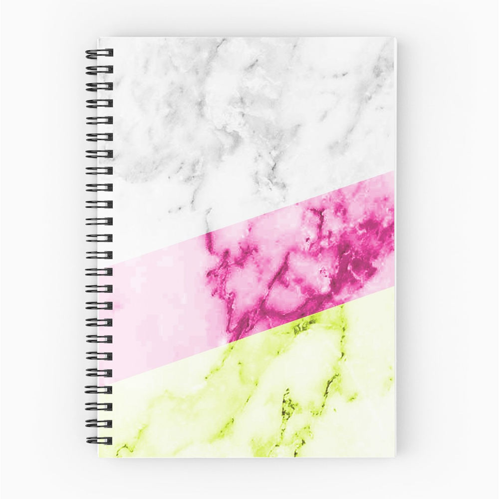 Glossy Cover Seni Kertas Spiral Notebook