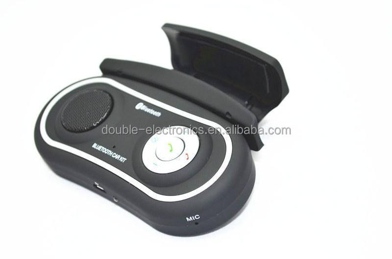 Nuovo Volante Handsfree Senza Fili Bluetooth Car Kit vivavoce Altoparlante del Bluetooth Del Telefono Per Il Iphone 5 5 s 4 Samsung Galaxy s4