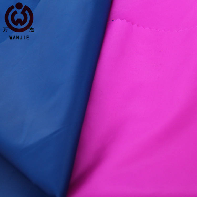 100%polyester taffeta fabric 75D190TA waterproof fabric for umbrella