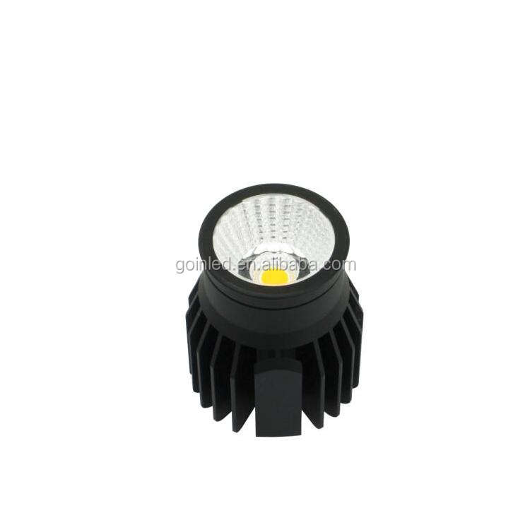 Dimmable 12W Led Cob Downlight Fitting, Pengganti Lampu Spot Down 70W Mr16 Gu10 Langit-langit