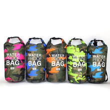 Amazon Hot Sale Heavy Duty Lightweight Large Capacity Camouflage PVC Waterproof Dry Bag with Adjustable Strap for Outdoor
