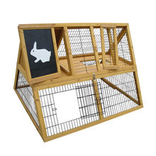 Outdoor factory wooden cage for rabbit