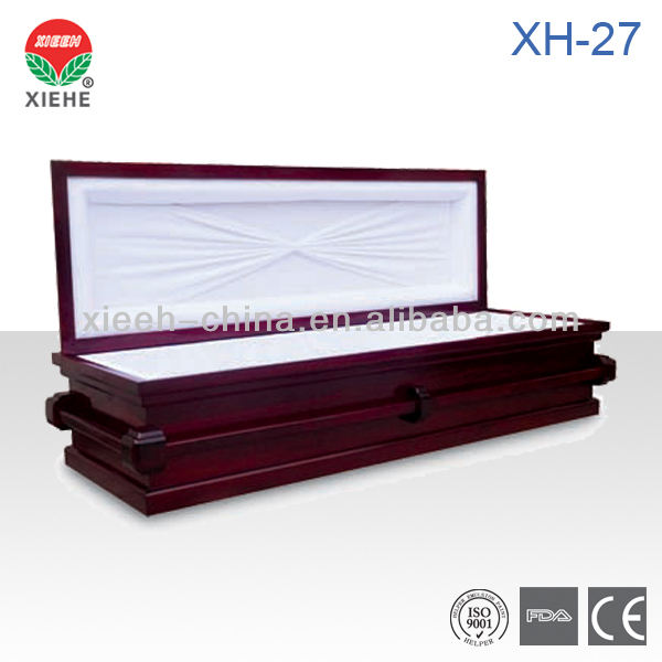 Cardboard Coffin or Eco Paper Casket XH-27