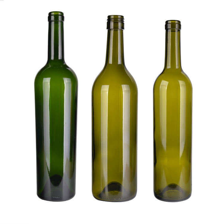 750ml wine glass bottle wholesale