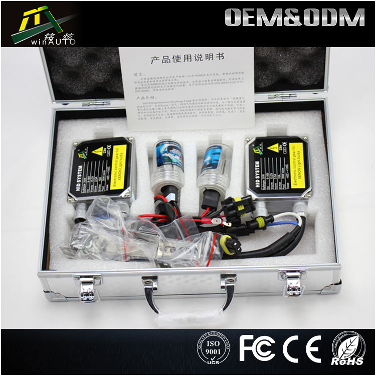 Car Accessories hid xenon kit 3000K 6000K 8000K H1 H3 H4 H7 H11 9005 9006 LED HID xenon lamp