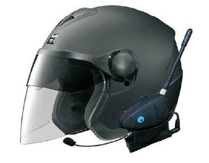 Casque de moto avec Bluetooth/FM et interphone 100 M-BT-12081