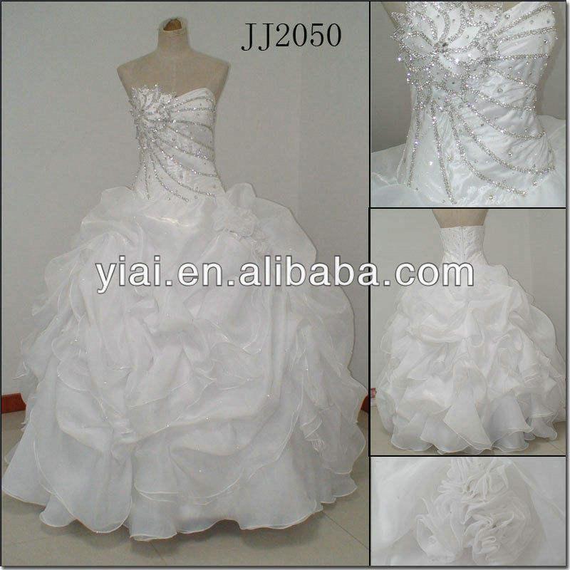 plus récent robe de bal jj2050 célèbre designer robe de mariée 2013 gonflés
