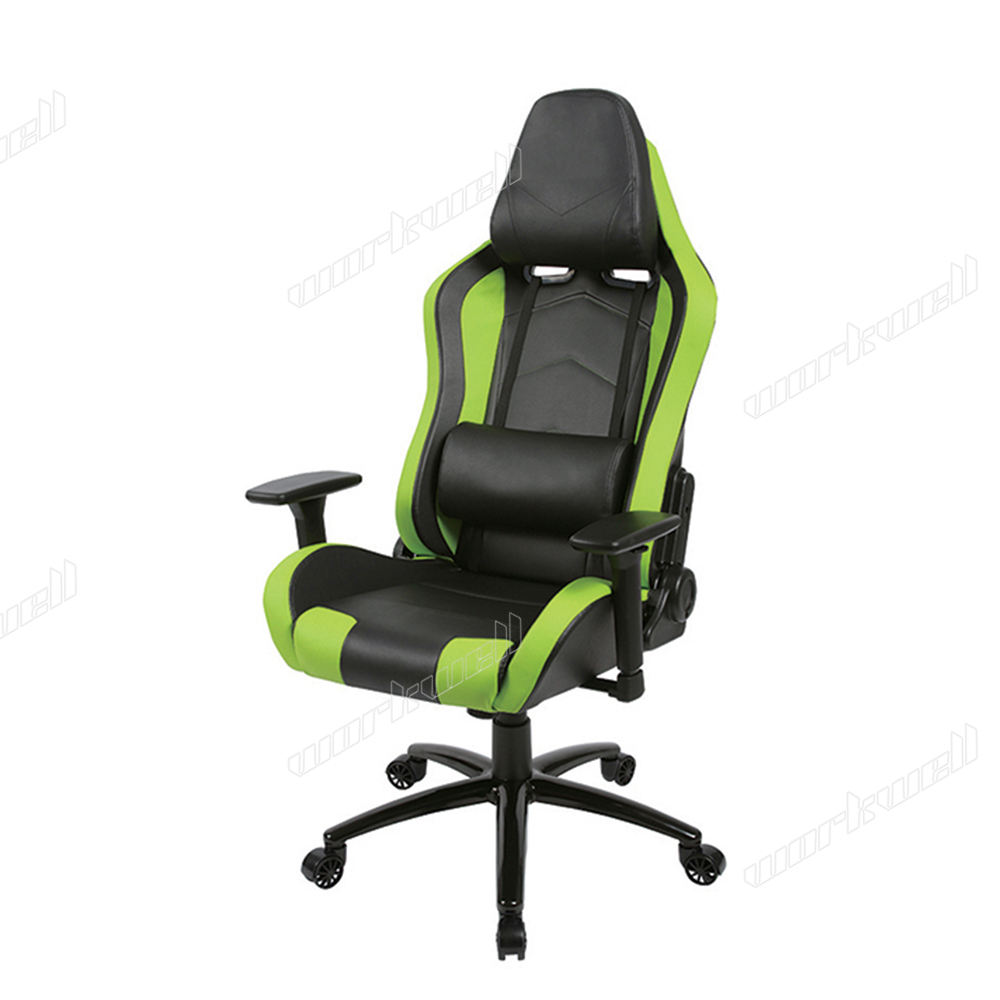 PU Leather Office Chair X Rocker Gaming Reclining Chair with Footrest