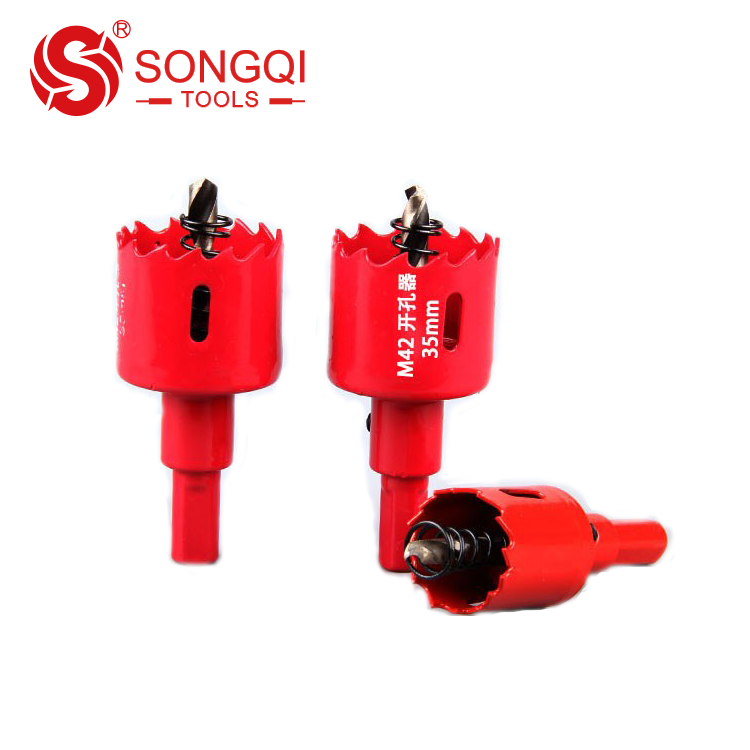 Long life Bi-Metal hole saw diamond core drill bit for cutting stainless steel wood plastic