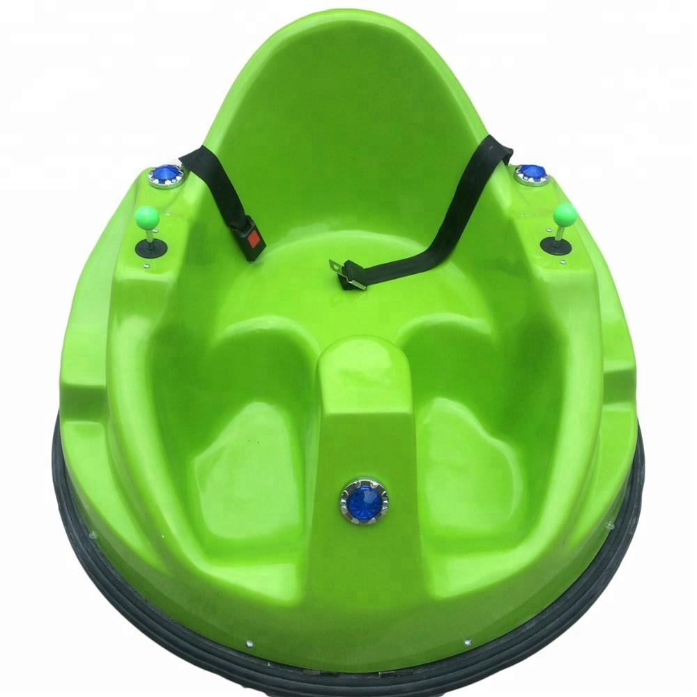 Chinese manufacturer supplier fiberglass UFO adult bumper car on the floor