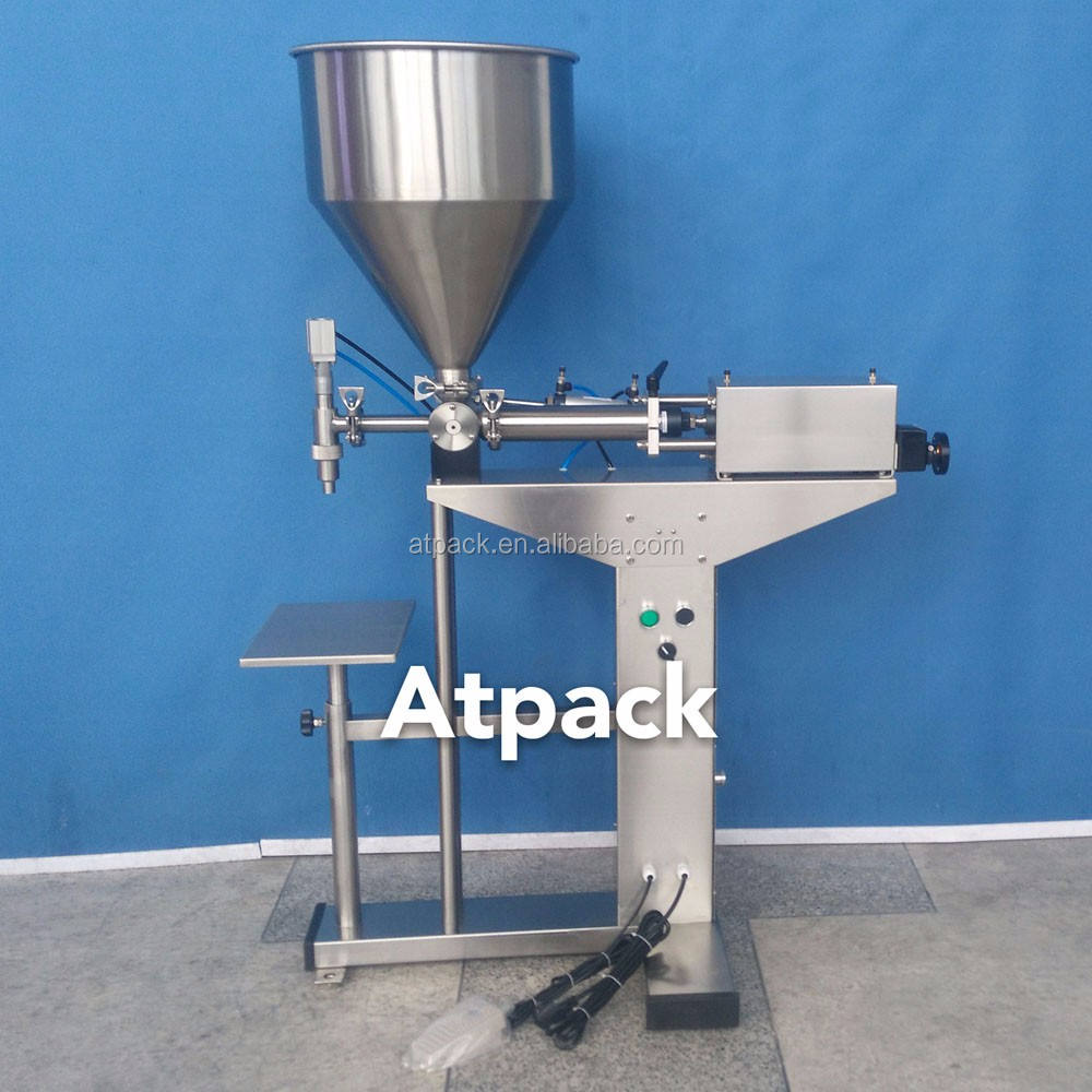 Atpack high-accuracy semi-automatic 2014 MiFo New Concept Skin Peeling Creams filling machine with CE GMP