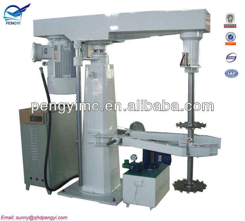 dispenser for color paint manufacturing