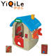 2017 new design children indoor plastic play house toy