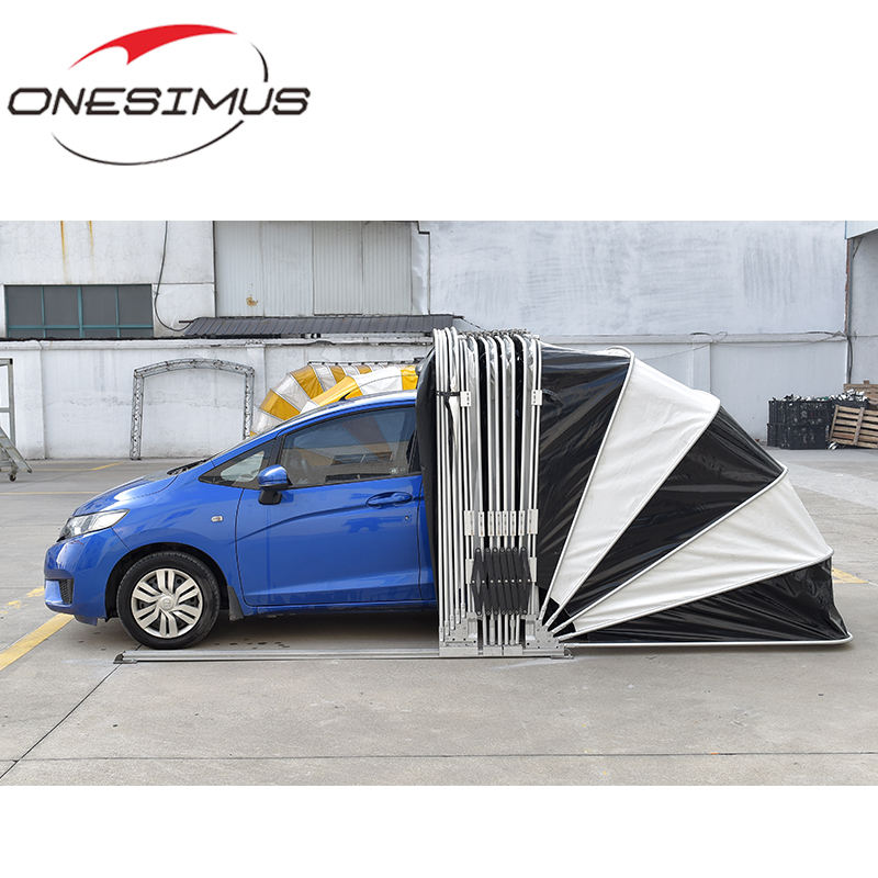 Competitive price Manual Simple Folding Sedan Mobile Car Shelter Retractable Folding Car Garage Tent