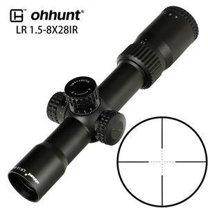 Ohhunt LR 1.5-8x28 IR Hunting Air Rifle Scope Mil Dot Reticle Nitrogen Filled Waterproof Shockproof Tactical Scope Riflescopes