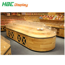 candy store equipment fruit candy display shelf