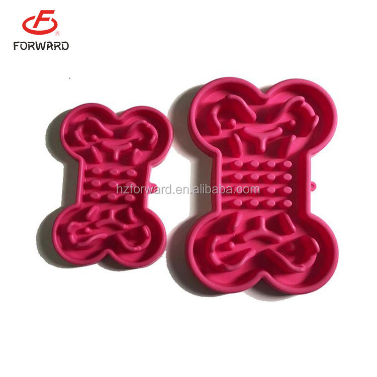 new arrival silicone dog food plates