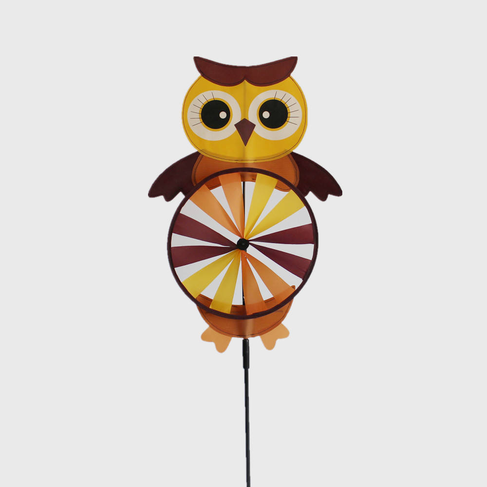 owl design harvest festival decoration windmill