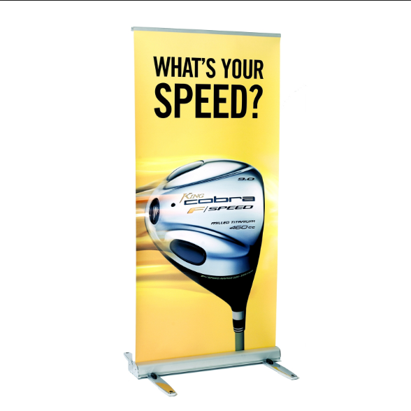 Odm Welcomed [ 80x200 Roll Banner ] Portable Retractable Pull Up 80x200 Luxury Roll Up Banner