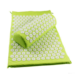 Custom logo factory price elegance soft acupressure mat and pillow with low cost