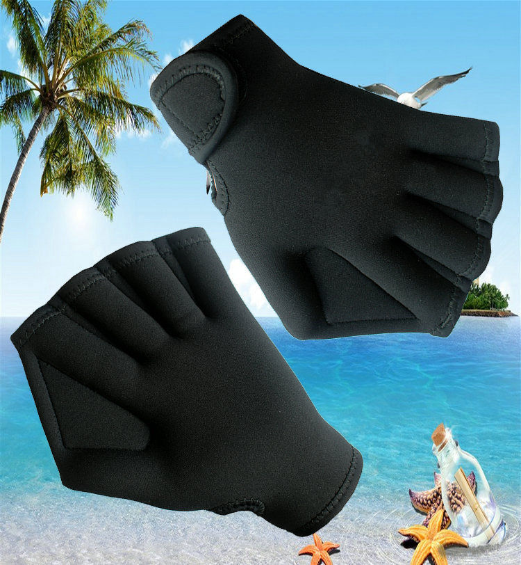 Neoprene Swimming Surfing Diving Webbed Sport Gloves