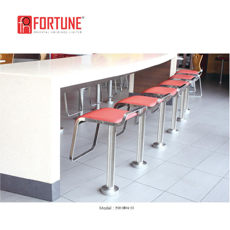 Fast food and chain restaurant bar counters good design furniture for sale FOH-XM04-33