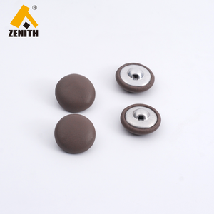 BM10784 cheap large sewing self cover buttons leather covered button
