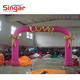 Inflatable arch with LOVE word on it for wedding decoration