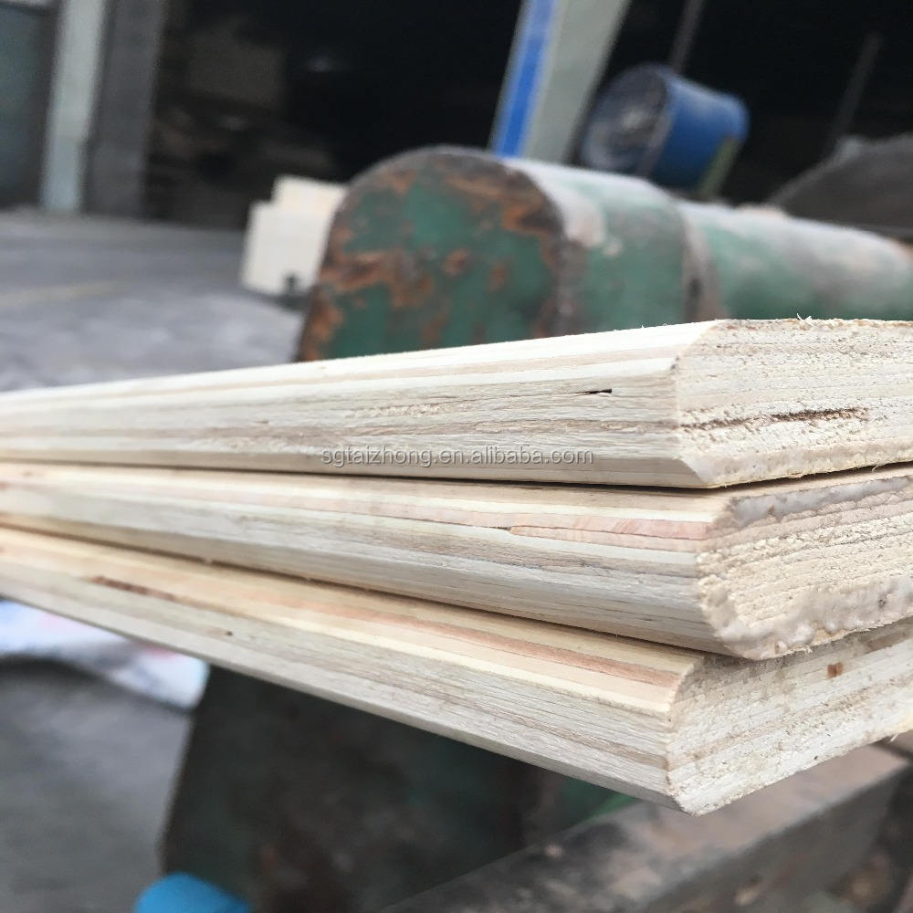 bevel edge poplar LVL plywood for bed slats