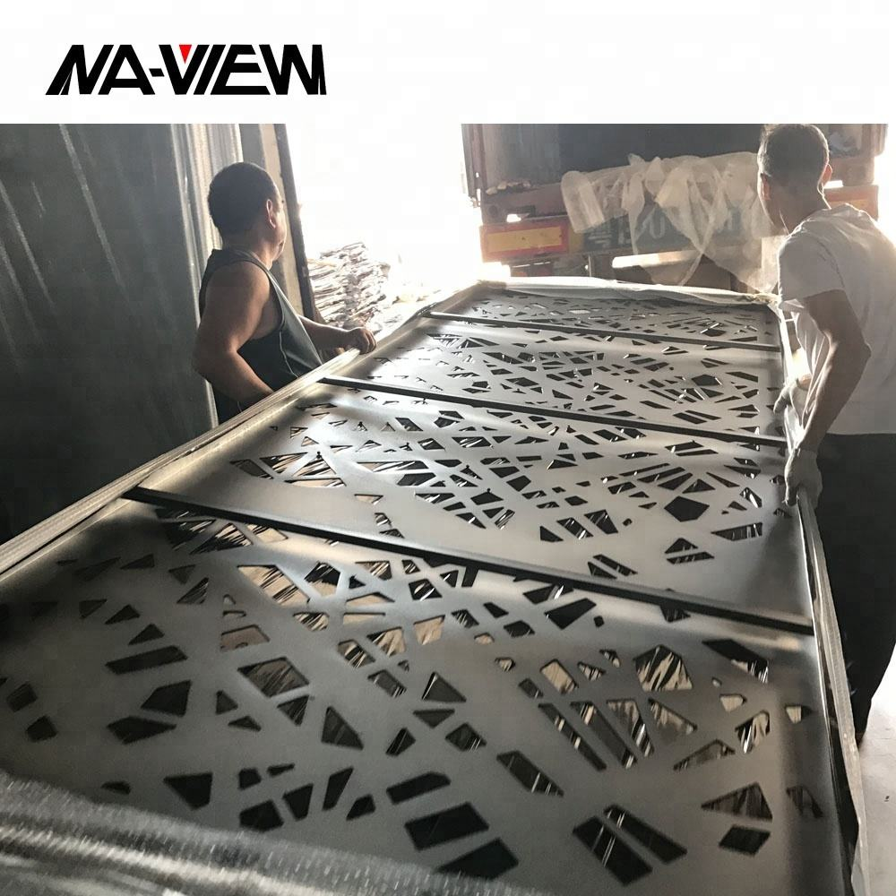 CNC Cut Exterior Wall Cladding Aluminum Panels for Building Facade