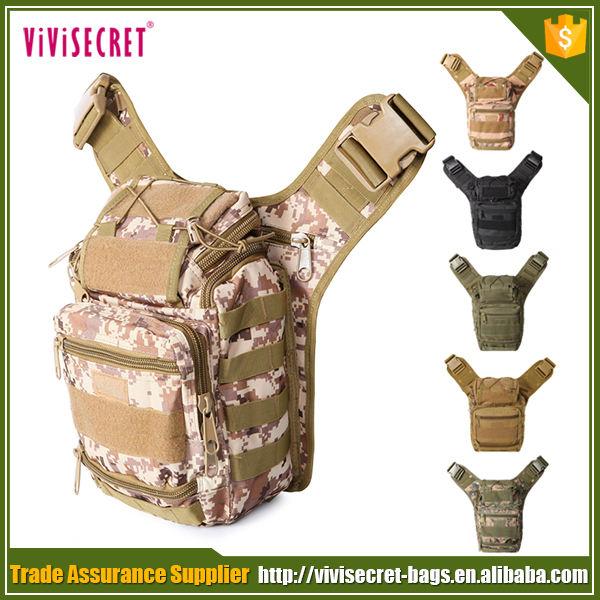 Guangzhou usine prix armée Satchel Cross Body sac petite armée Camo <span class=keywords><strong>Surplus</strong></span> tactique épaule Messenger sac gros