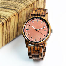 2020 Custom your brand holz wooden watches for husband