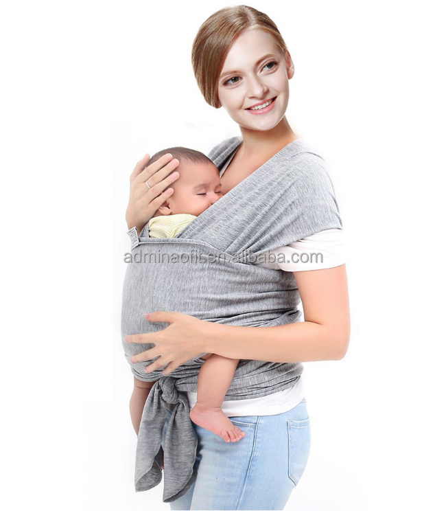 Organic Child Newborn Breast Feeding Cover Sling Boba Cotton Baby Wrap Carrier