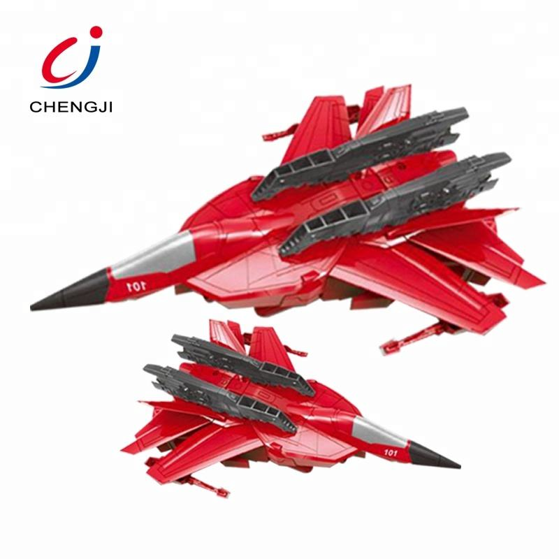 Boys Toy Remote Control Plastic Battle Aircraft Deformation RC Fighter Plane, Robot Deformation Plane RC Fighter Jet