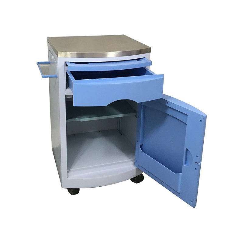 hospital furniture manufacturer bedside lockers cabinet