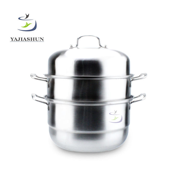Korean Stainless Steel Food Steamer Cooking Hot Pot Mini Food Steamer Set Steam Cooker
