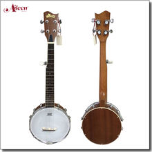 "26"" 5 strings black walnut fingerboard travel banjo(ABO125)"